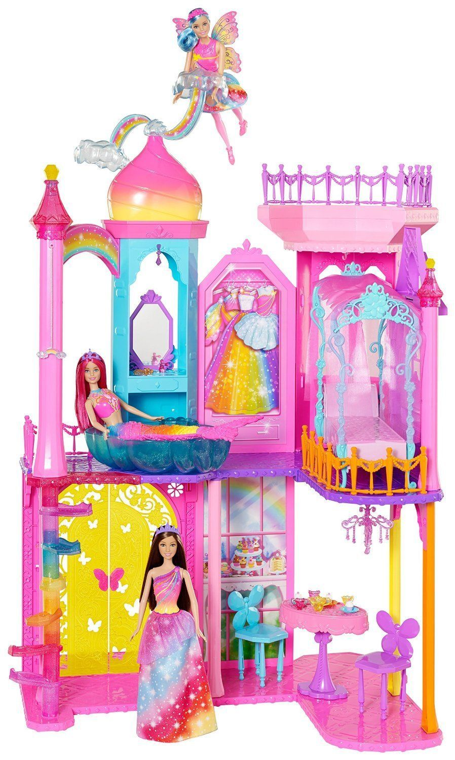 Barbie Dreamtopia Rainbow Cove Princess Castle Playset