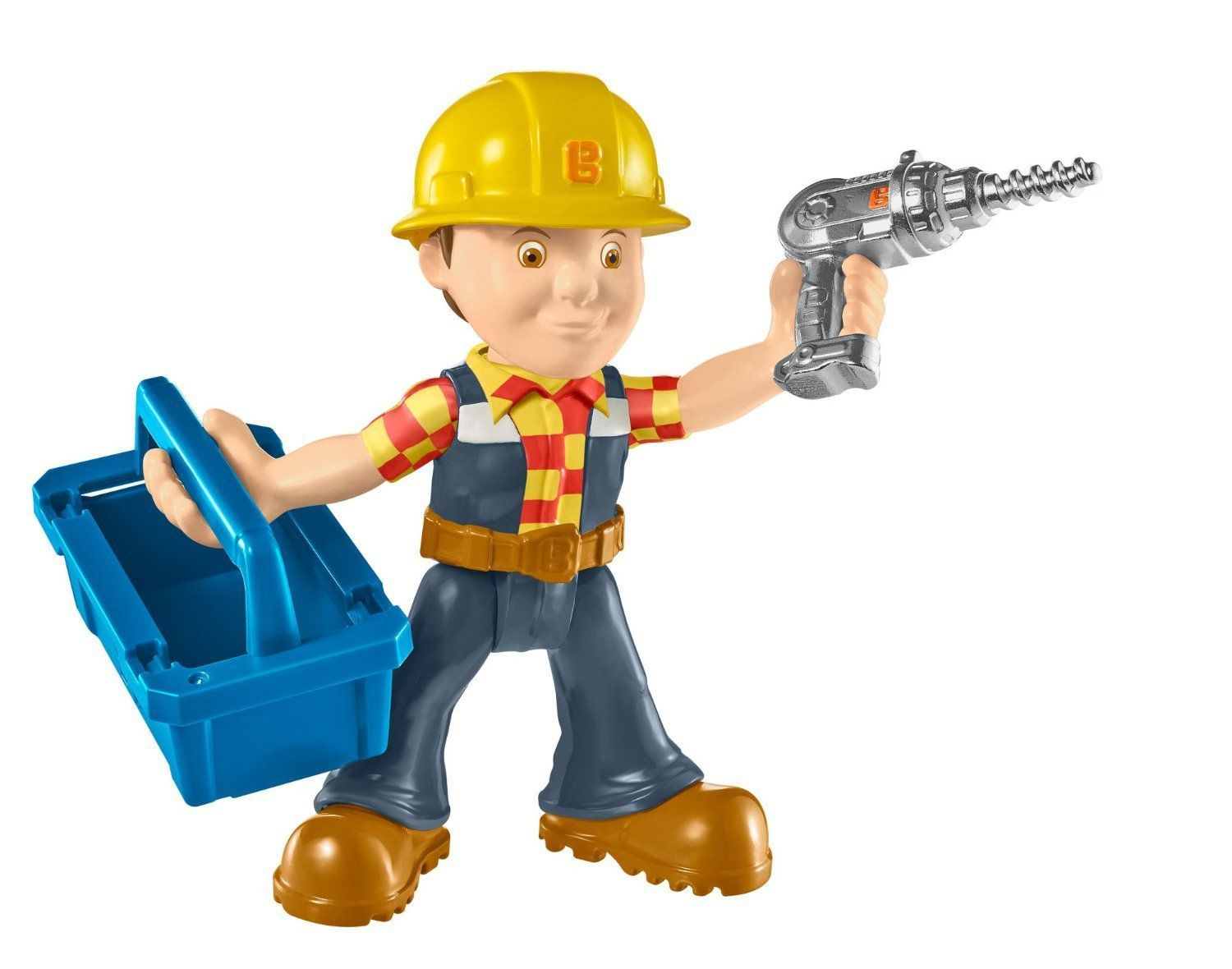 Bob the builder action figure repair build bob for Www builder
