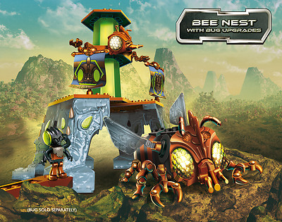 Construct A Bugz Character Building Nest Bee