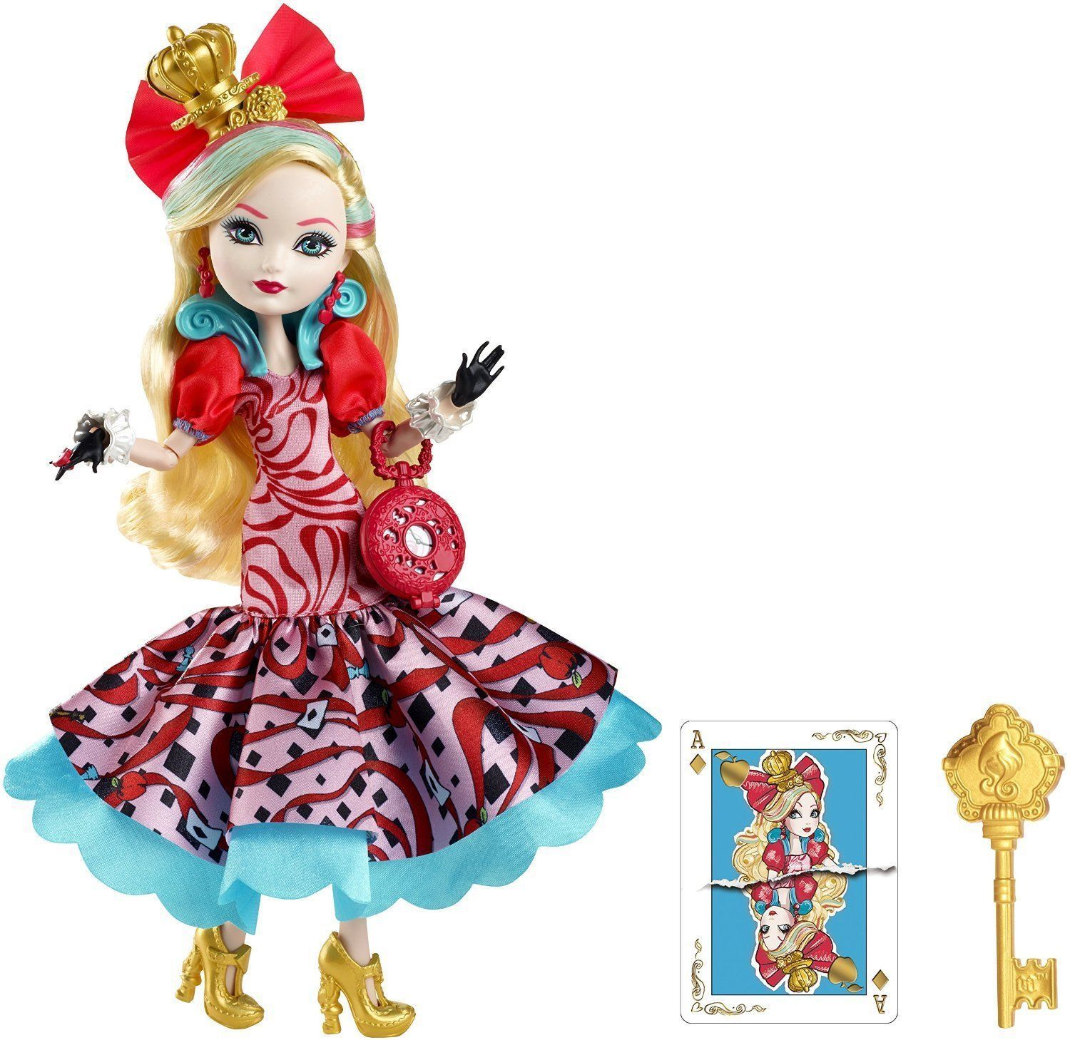 Ever After High Dolls - Way Too Wonderland - Apple White