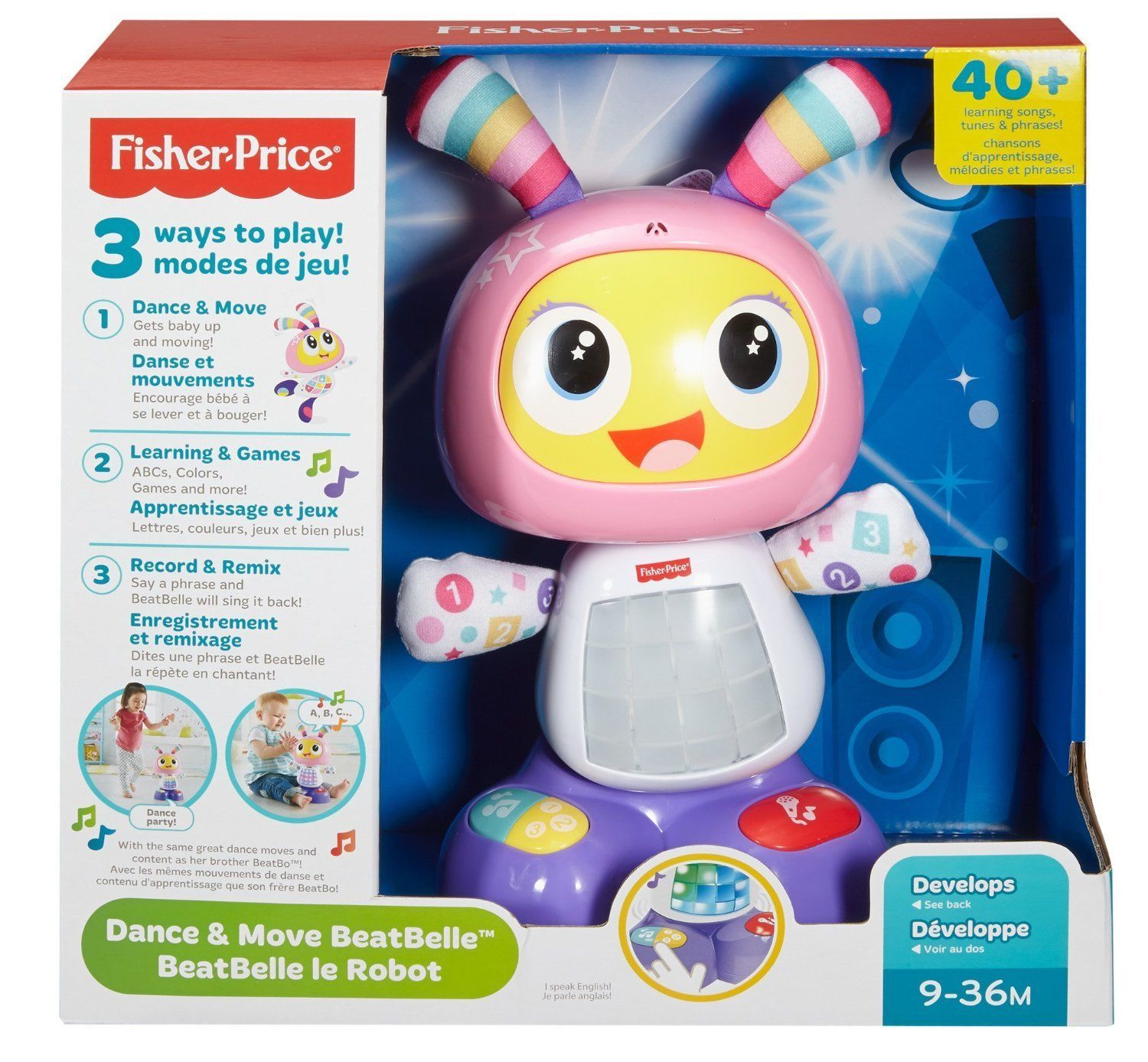 Fisher Price - Dance and Move BeatBelle