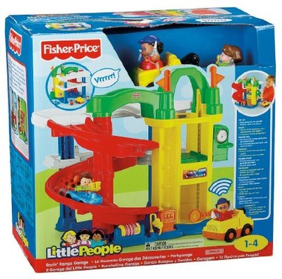 Fisher price little people racin ramps garage - Fisher price little people racin ramps garage ...