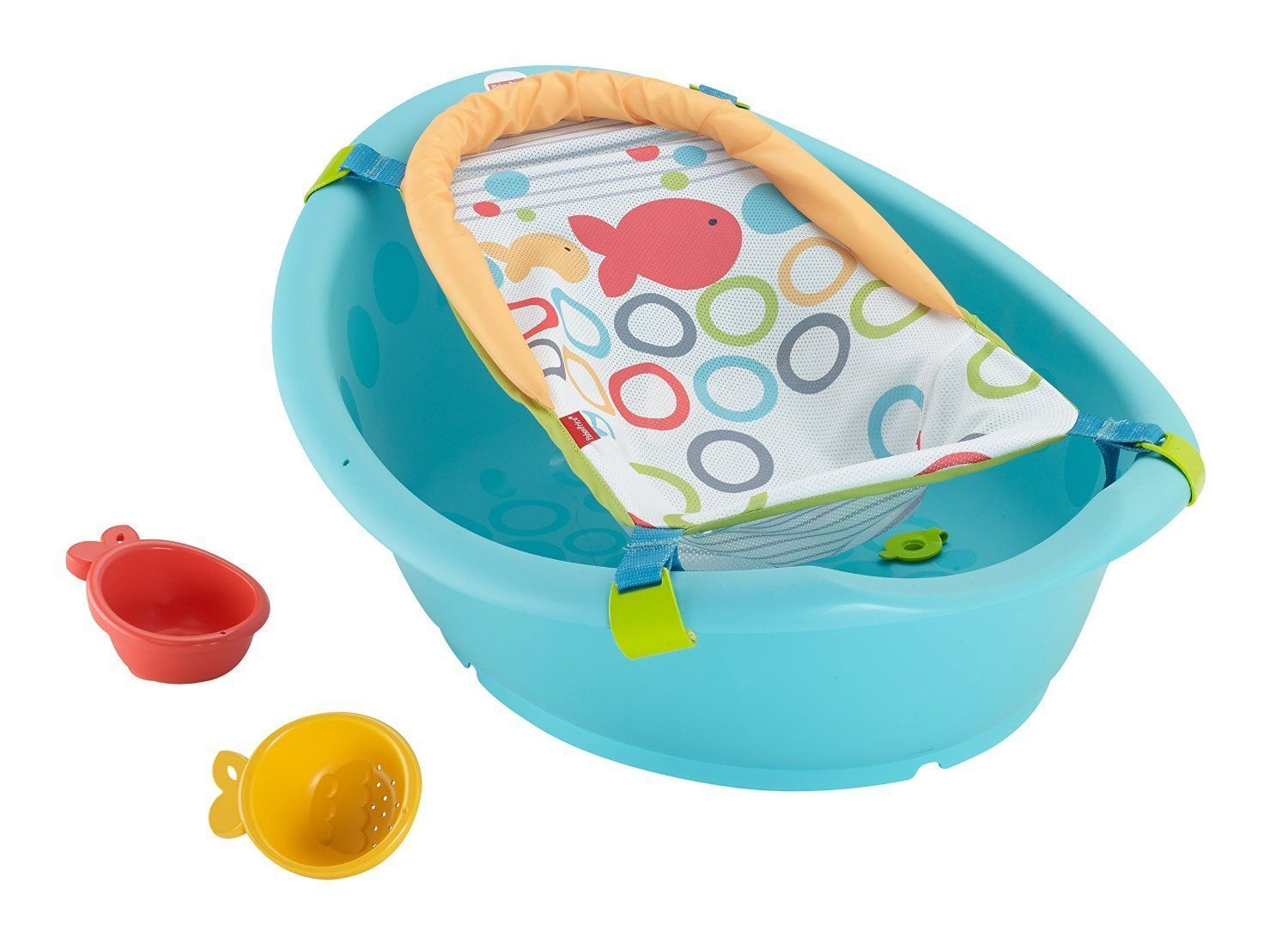 Fisher Price Rinse N Grow Tub With Sling