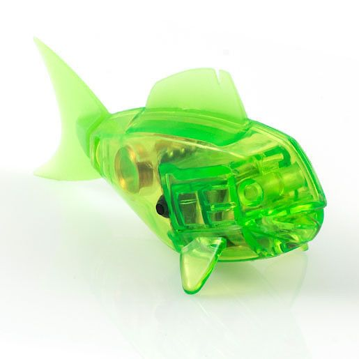 Hexbug aquabot robotic green fish for Hex bug fish