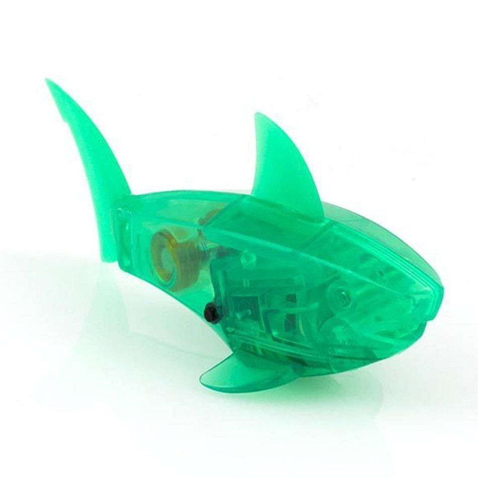 Hexbug aquabot robotic green shark for Aquabot smart fish