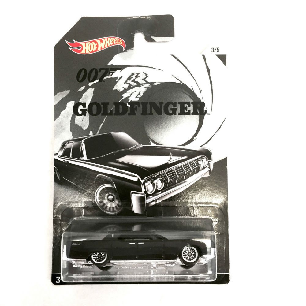 hot wheels james bond 007 goldfinger 64 lincoln continental. Black Bedroom Furniture Sets. Home Design Ideas