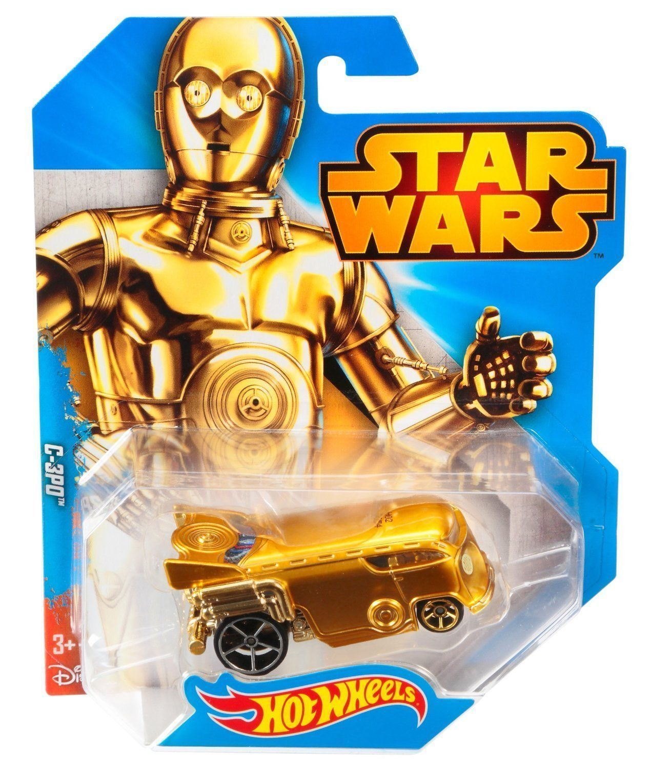 hot wheels star wars diecast vehicle c 3po. Black Bedroom Furniture Sets. Home Design Ideas