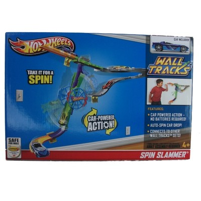 Hot wheels wall tracks spin slammer playset for Hot wheels wall tracks template