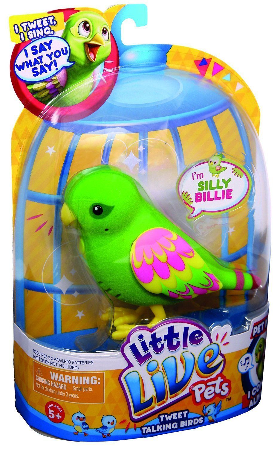 little live pets tweet talking birds instructions