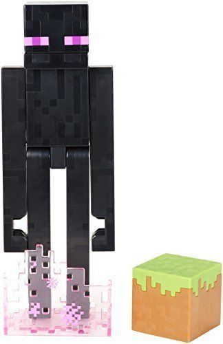 Walmart Minecraft Toys For Boys : Minecraft action figure attacking enderman