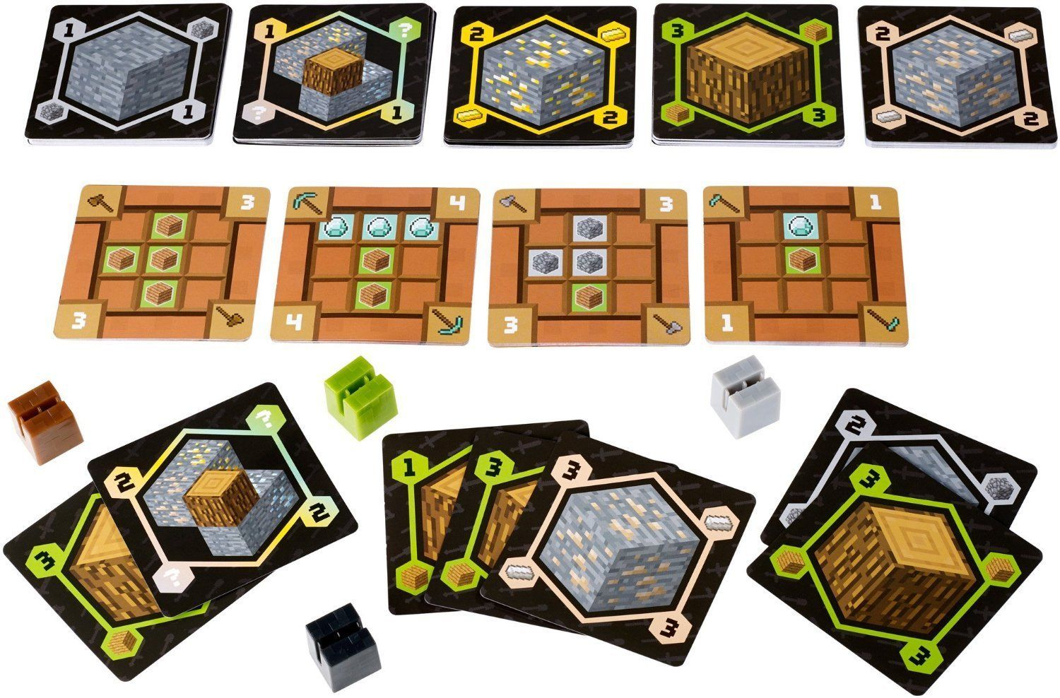 Minecraft card game for The game mind craft