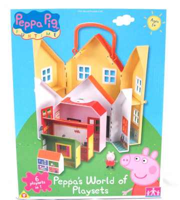 peppas world of playsets