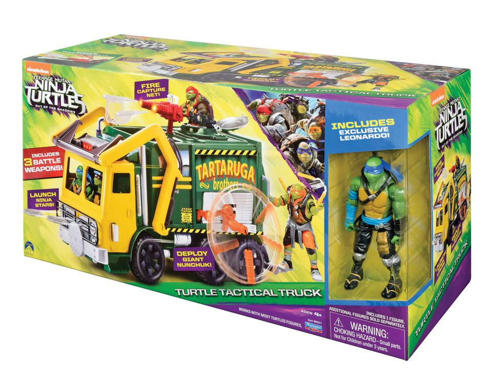 Turtle Toys For Boys : Teenage mutant ninja turtles out of the shadows turtle