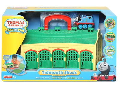 Thomas Take N Play Tidmouth Sheds