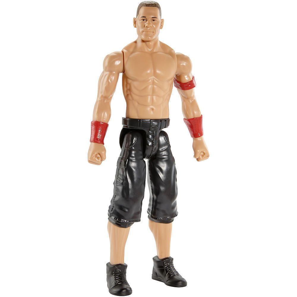 Wwe Girl Toys : Wwe wrestling action figure john cena red wristbands