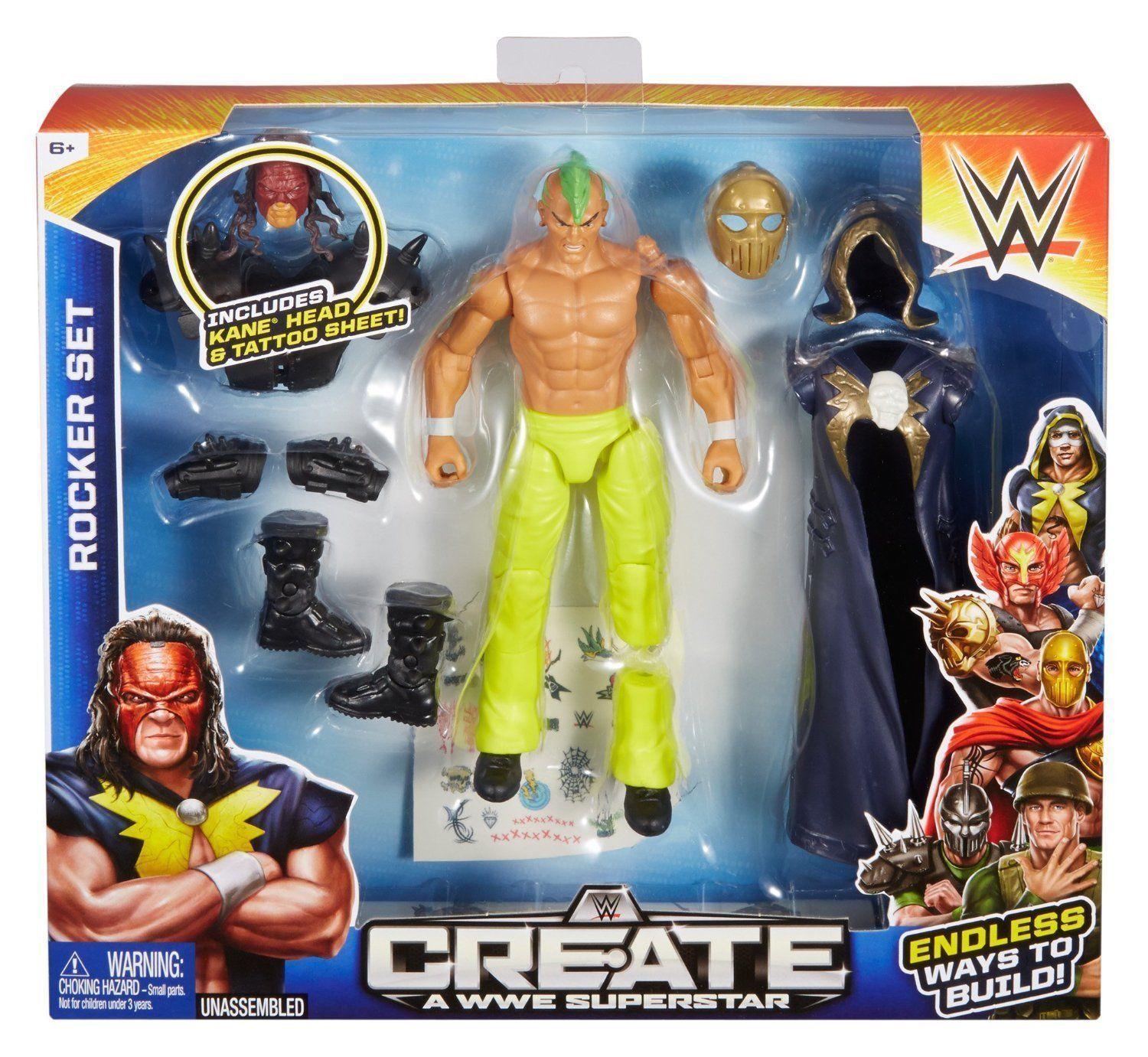 Create a wwe superstar - Shopping northbrook il