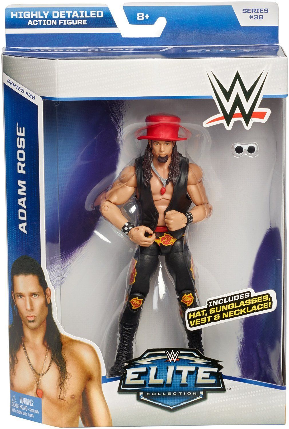 wwe elite collection action figure series 38 adam rose
