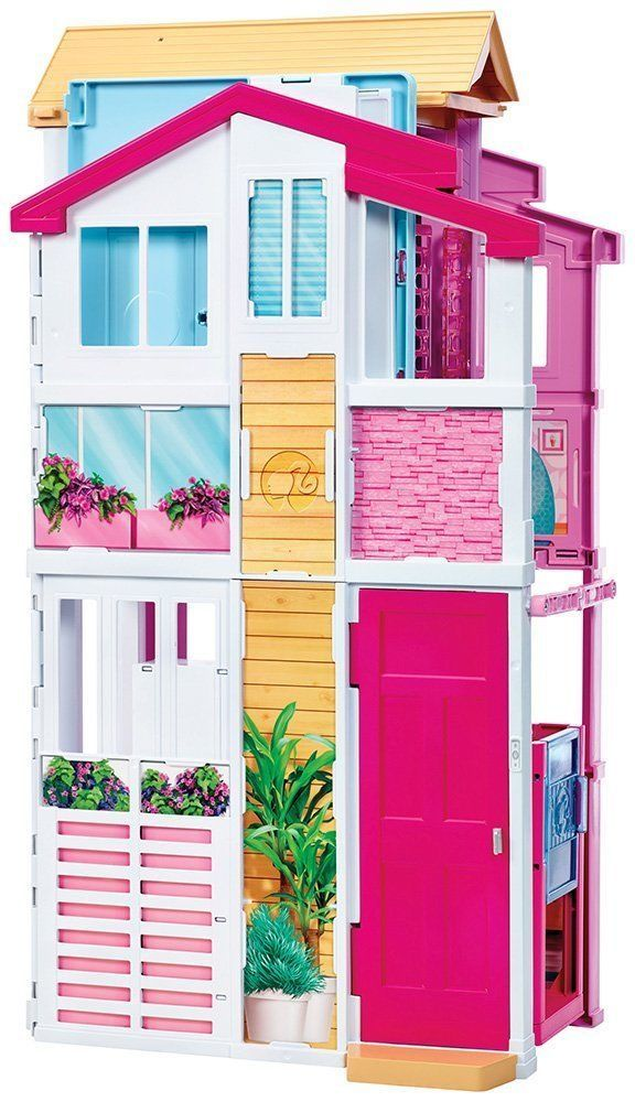 Barbie Doll 3 Storey Town House Mansion Deluxe