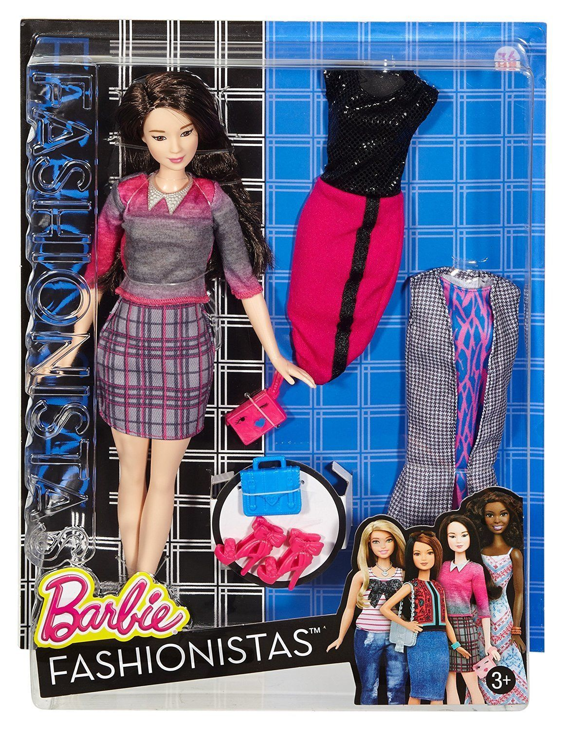 Barbie Fashionistas Doll No 36 Chic With A Wink Doll