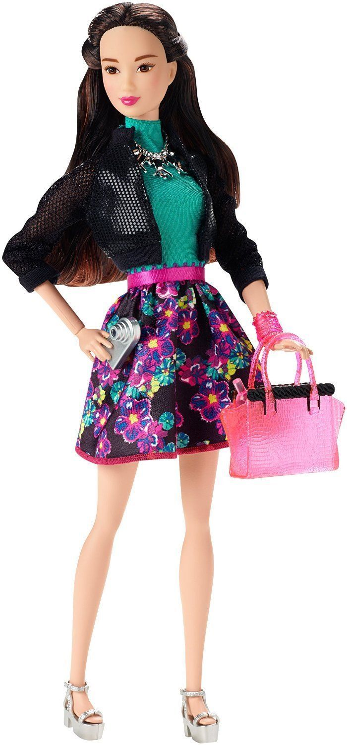 Barbie Style Fashionistas Glam Night Doll Raquelle
