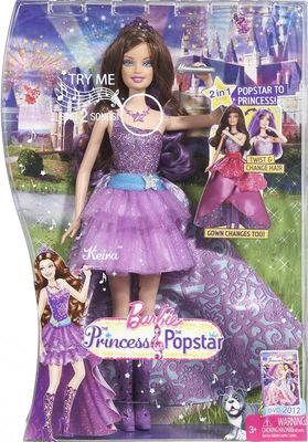 barbie the princess amp the popstar singing keira doll x3691