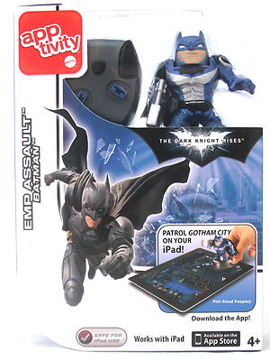Batman Apptivity Dark Knight Rises EMP Assault