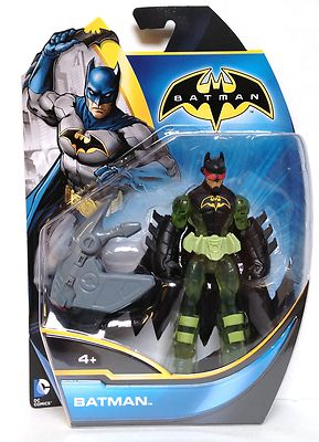 Batman Power Attack Missile Figure Urban Redeco