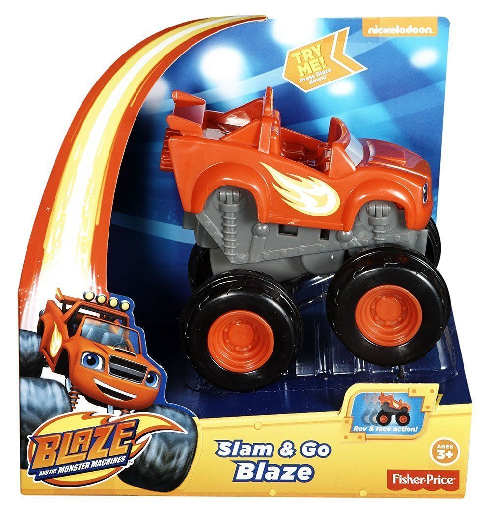 Blaze And The Monster Machines Slam Amp Go Blaze