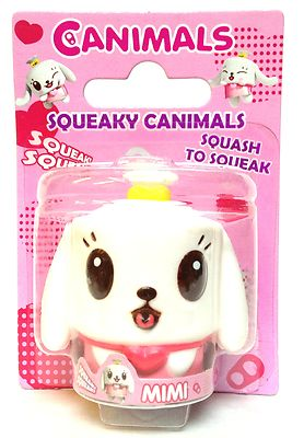 Canimals Squeaky Toy Mimi