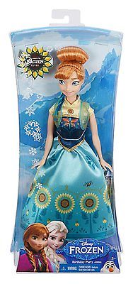 Disney Frozen Fever Birthday Party Anna Doll