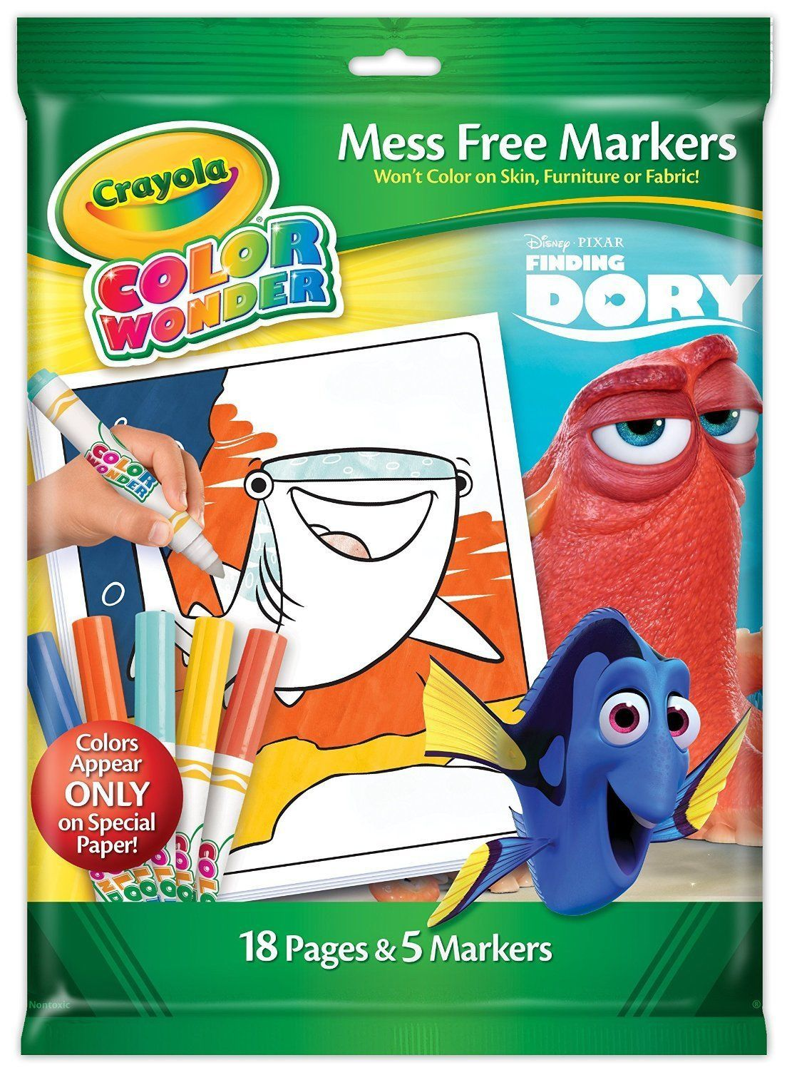 Disney Pixar Finding Dory Crayola Color Wonder