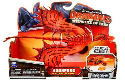 Dreamworks Dragons Defenders Of Berk Hookfang Monstrous
