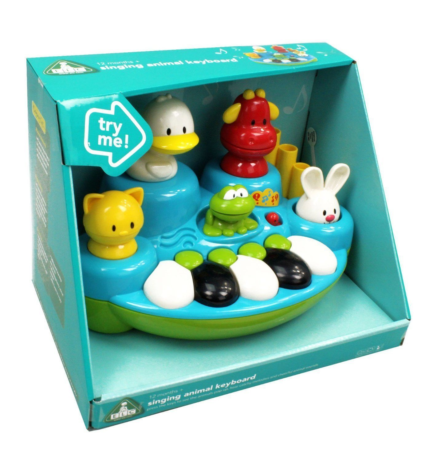 ELC Singing Animal Keyboard - Early Learning Centre