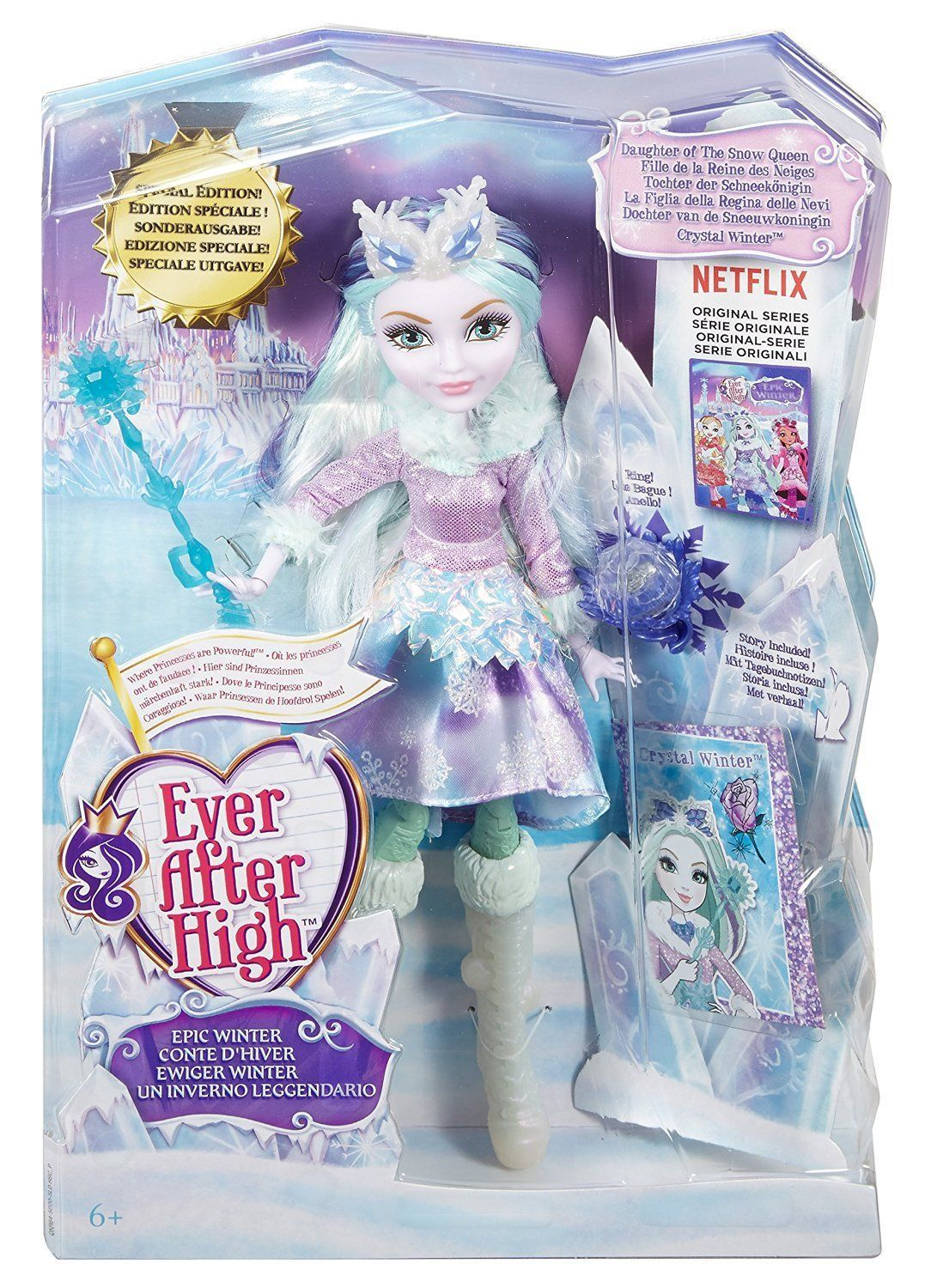 Ever After High Doll Epic Winter Special Edition Crystal