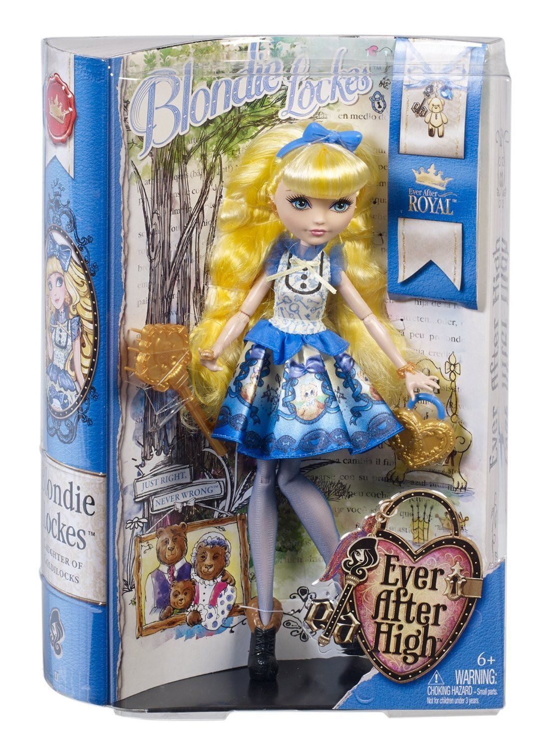 Ever After High Dolls Royal Blondie Lockes Doll