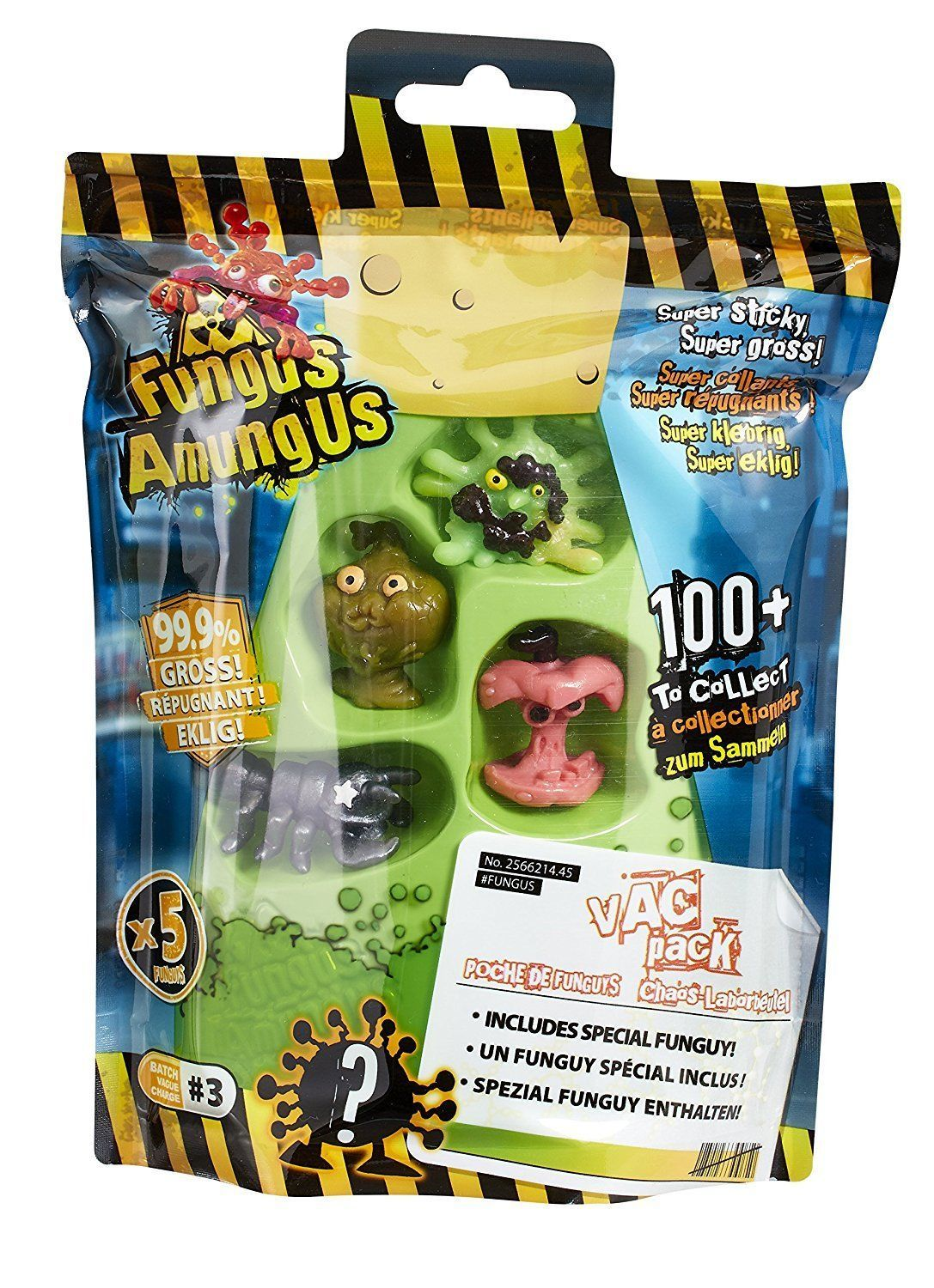 Fungus Amungus Vac Collection Funguys Figures Pack Of 5