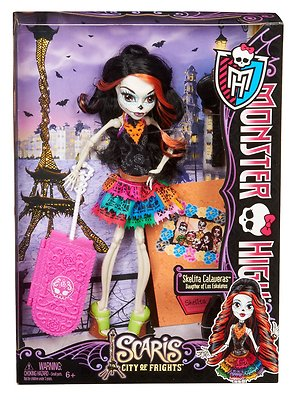 Monster High Deluxe Doll Scaris