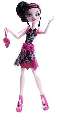 Monster High Doll - Frights Camera Action Black Carpet - Draculaura