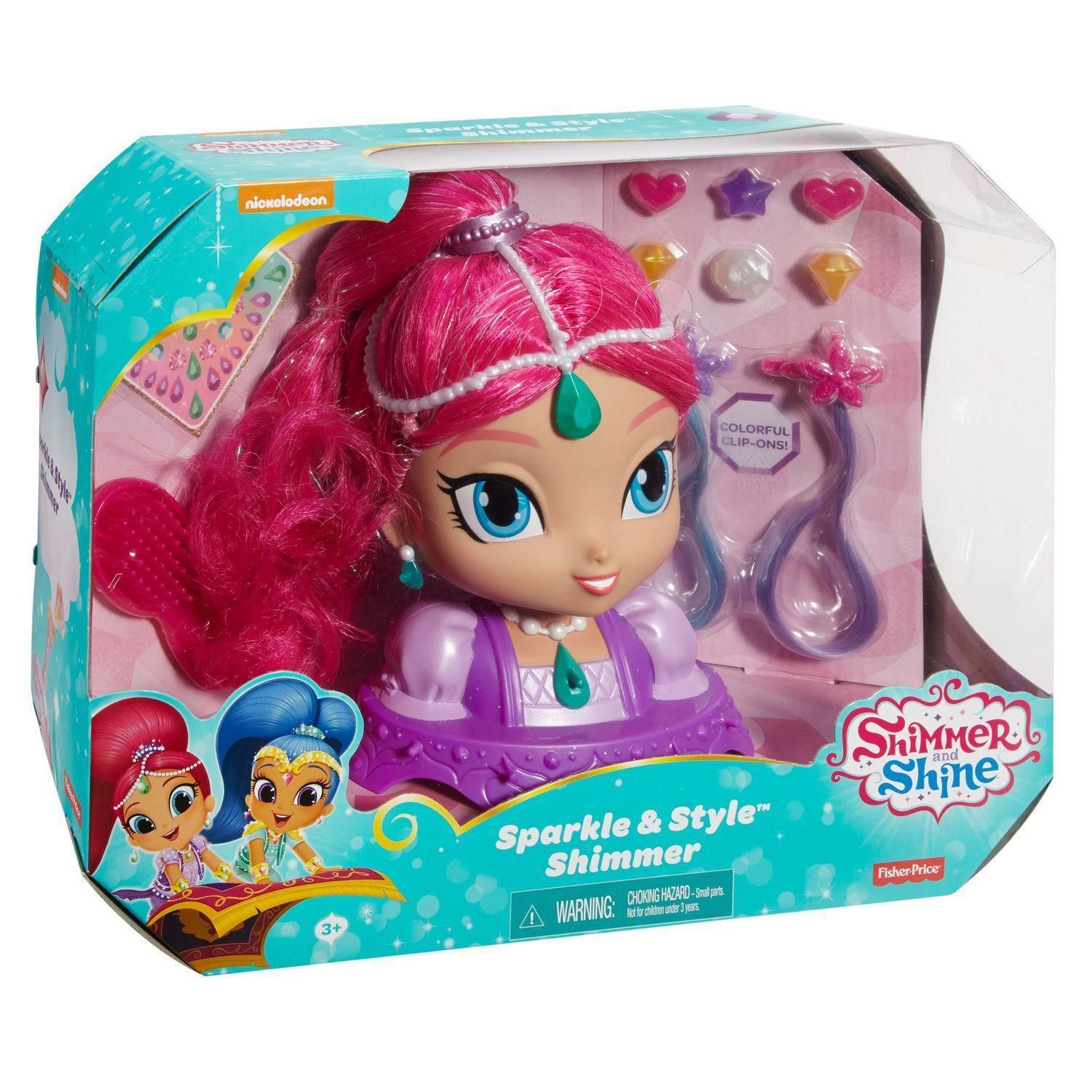 Shimmer And Shine Sparkle Amp Style Shimmer Playset