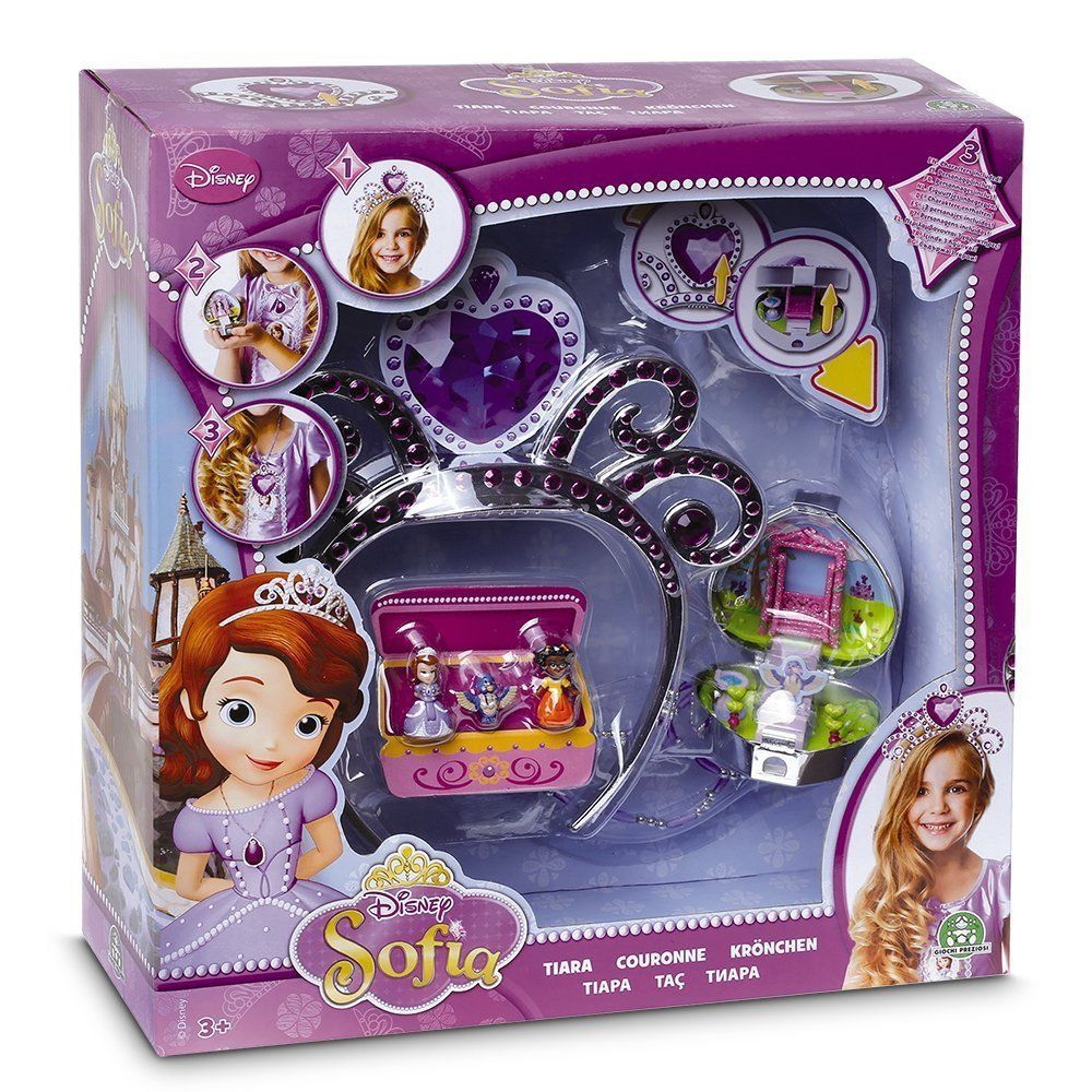 Girl Toys Age 10 And Up : Sofia the first tiara playset