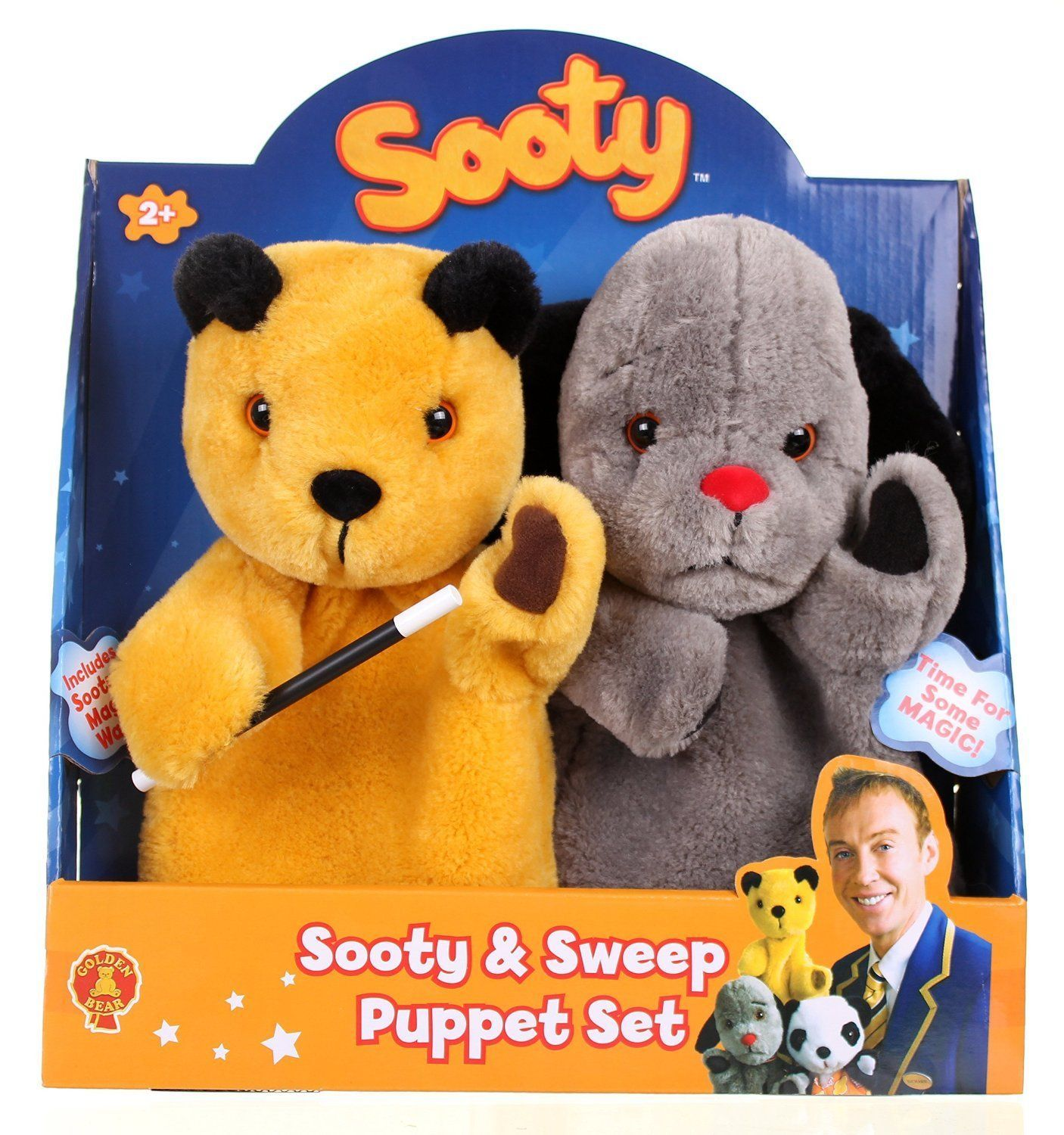 The Sooty Show Sooty Amp Sweep Puppet Set