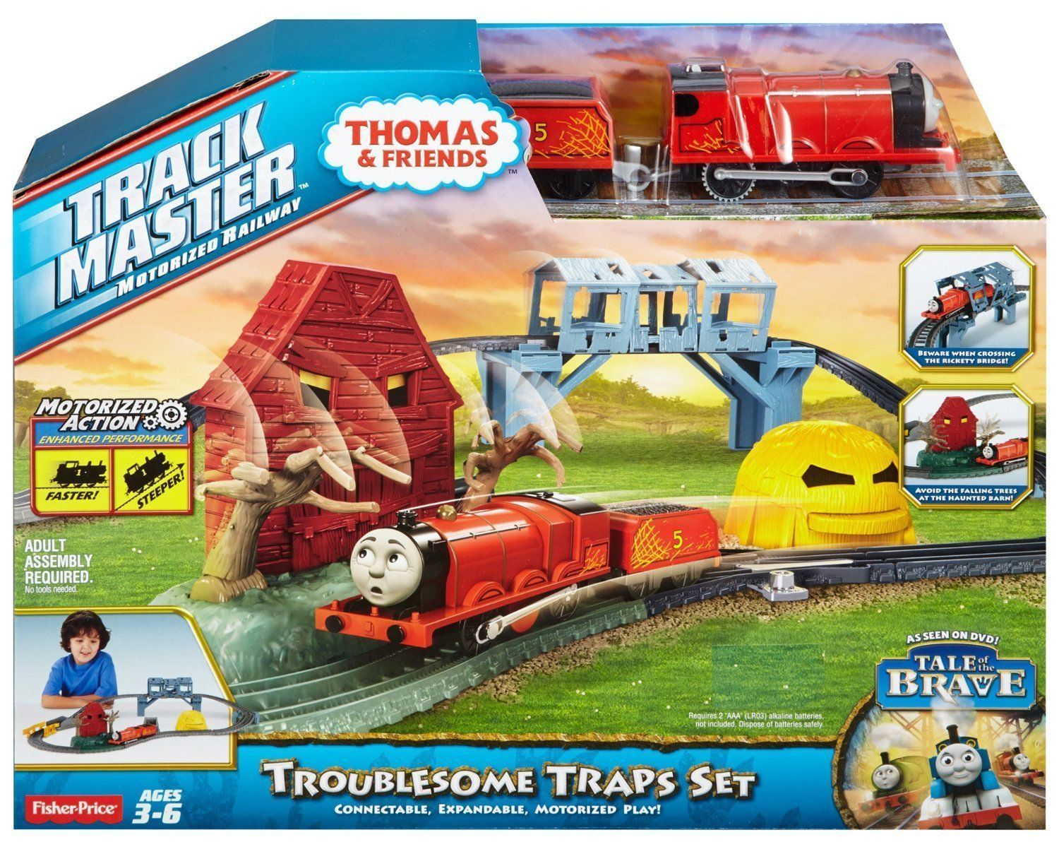 Thomas & Friends Trackmaster Motorized Railway - Troublesome ...