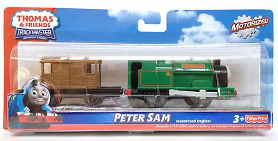 Thomas Motorised Trackmaster Big Friends Peter Sam Engine