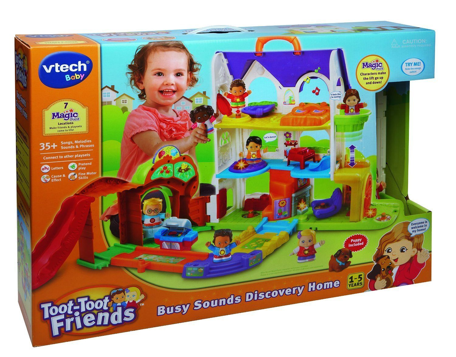 VTech Baby Toot Toot Friends Busy Sounds Discovery Home