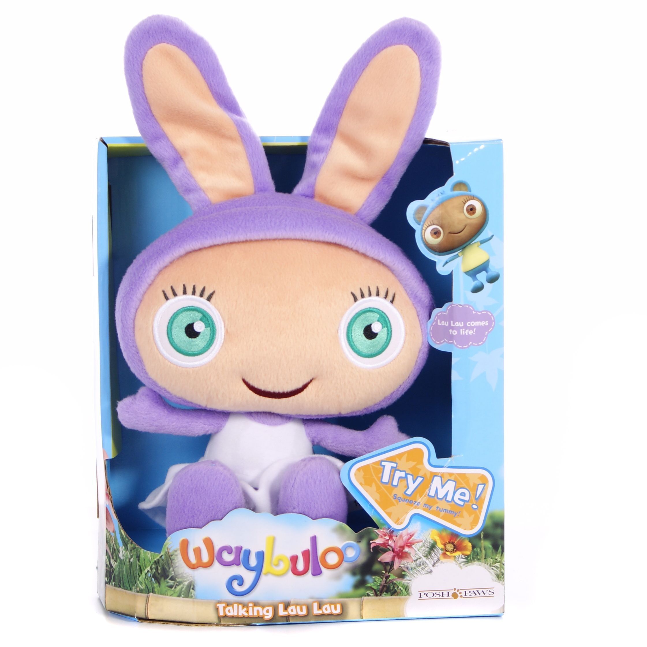 Waybuloo Talking Plush Lau Lau Soft Toy